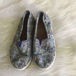 toms floral Shoes  Youth 12 Y 12